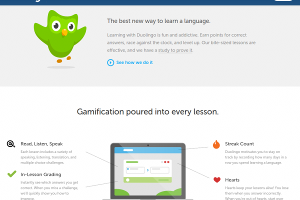A Fun Game that Teaches you Portuguese: Learn Portuguese Free Online and Mobile (iOS and Android) with Duolingo