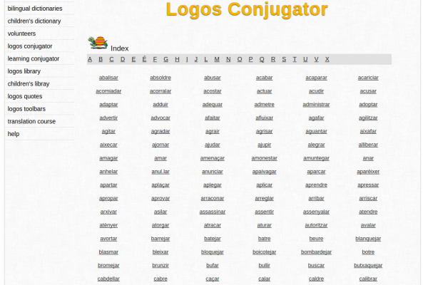 Free Online Catalan Verb Conjugation and Learning Conjugator
