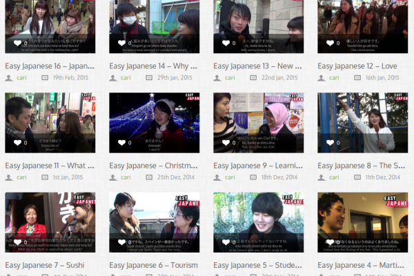 """Free """"Real Life"""" Japanese Language Learning Videos with Bilingual Subtitles (English and Japanese)"""