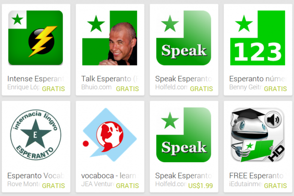 Learn Esperanto with Android Apps