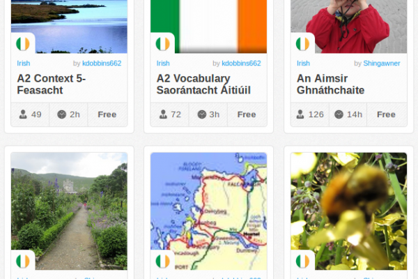 Memrise Merges Science, Fun and Community to Help Learn Irish Online for Free (+ App)