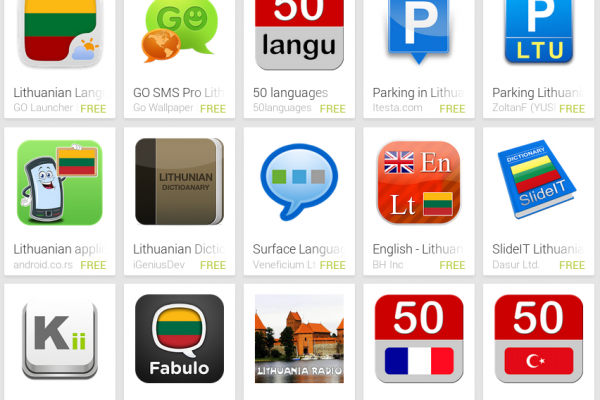 Learn Lithuanian with Android Apps