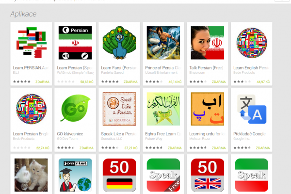 Learn Persian/Farsi with Android Apps