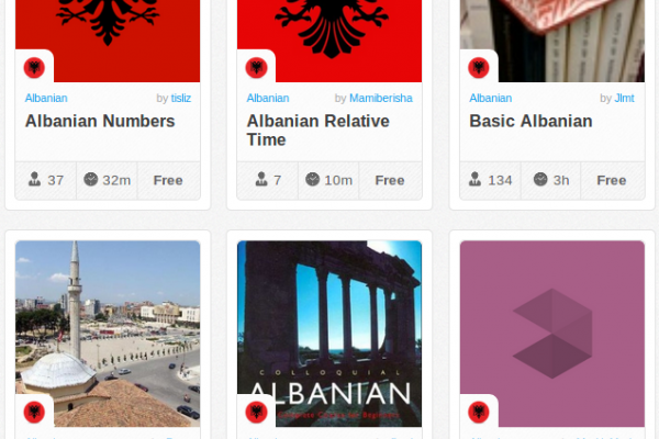 Memrise Merges Science, Fun and Community to Help Learn Albanian Online for Free (+ App)