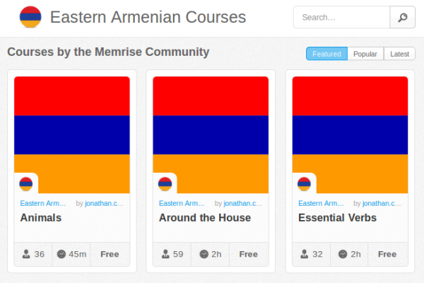 Memrise Merges Science, Fun and Community to Help Learn Armenian Online for Free (+ App)