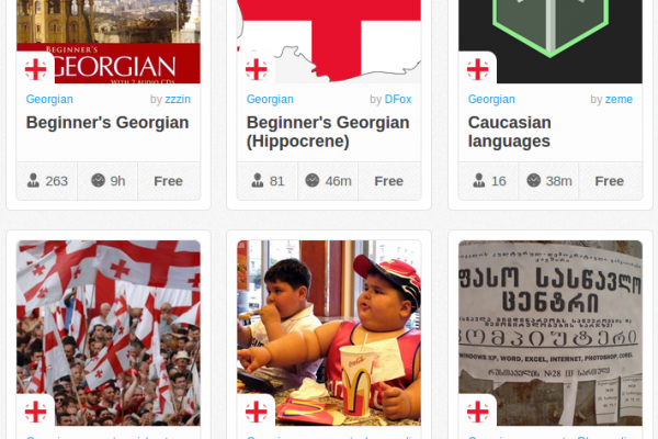 Memrise Merges Science, Fun and Community to Help Learn Georgian Online for Free (+ App)