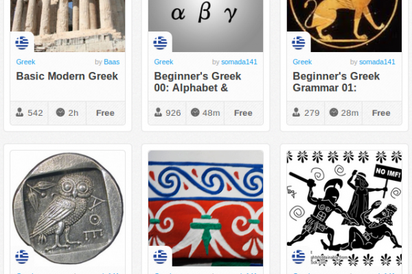 Memrise Merges Science, Fun and Community to Help Learn Greek Online for Free (+ App)