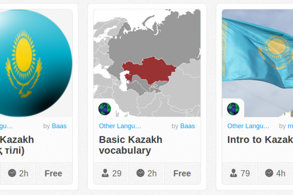 Memrise Merges Science, Fun and Community to Help Learn Kazakh Online for Free (+ App)