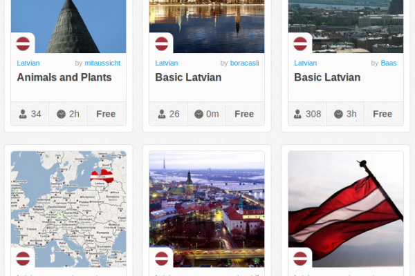 Memrise Merges Science, Fun and Community to Help Learn Latvian Online for Free (+ App)