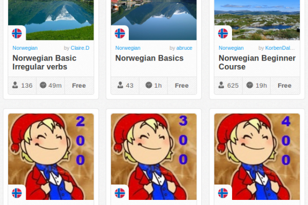 Memrise Merges Science, Fun and Community to Help Learn Norwegian Online for Free (+ App)