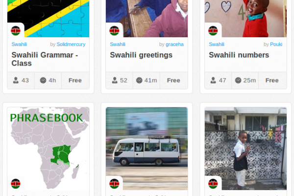 Memrise Merges Science, Fun and Community to Help Learn Swahili Online for Free (+ App)