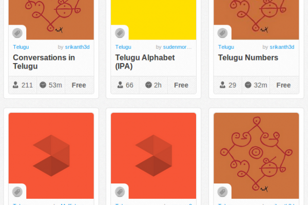 Memrise Merges Science, Fun and Community to Help Learn Telugu Online for Free (+ App)